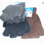 One Size Knit Winter Magic Gloves Finger less  .56 ea pair