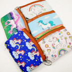 "Cute 5"" Asst Style Unicorn Coin Purse w/ Key Chain .56 each"