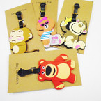 Animal Theme Silicone Luggage Tags .54 each