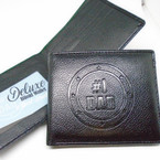 Deluxe # 1 DAD Bi Fold Wallets 12 per display $ 2.25 each