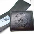 Deluxe # 1 DAD Bi Fold Wallets 12 per display $ 2.25 each