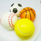 "3"" Sports Theme Relax Stress Balls 12 per pk .50 each"