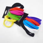 10 Pack Soft & Stretchy Ponytailers Mixed Colors .54 per pack