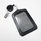 All Black Retractable ID Holder  .54 each