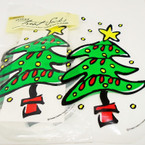 20 Count Christmas Tree Treat Sacks   12 pks of 20 per bag .50 ea set