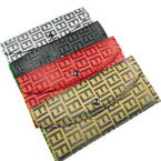 "7"" Asst Color Designer Inspired Fendy Look Ladies Wallets .60 each"