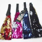 Popular Sequin Mermaid Headbands w/ Elastic Back   .54 each