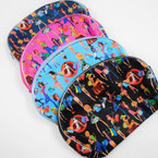 "5"" X 8"" Fashion Gal Print Large Cosmetic Bags .56 each"