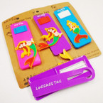 Mermaid Theme Luggage Tags 12 per pk .54 each