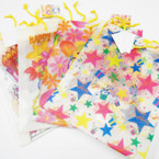 "Lg Size 10"" X 13"" Birthday Gift Bags Heavy Duty Plastic   12 per pk  .50 ea"
