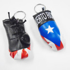 "3.25"" Puerto Rico Boxing Glove Keychains 12 per pk .50 each"