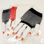 4 Color Fish Net Fashion Gloves .33 ea pair