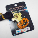 "CLOSEOUT 1.5"" Flashing Halloween Necklaces 50 per pk .08 each"