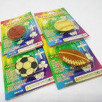 CLOSEOUT  4 Style Sports Magnetic Flashing Pins 84 per bx  .10  each