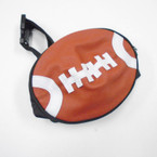 "8"" Football Theme Waist Bag Adjustable Strap sold by pc $ 1.25 each"