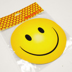 "5.5"" Yellow Happy Face Anywhere Magnet 12 per pk  .33 ea"