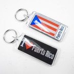 DBL Sided Puerto Rico Acrylic  Keychains .25 each