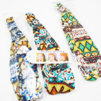 3 in 1 Use Tribal Pattern Headbands .45 each