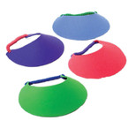 "7"" Foam Visors w/ Phone Coil Back 12 per pk .42 each"