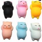 "2"" Desk Top Soft Squishy Animals (Cats) 24 per pk .25 each"