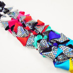 "5.5"" 2 Layer Gator Clip Bows Mermaid Theme .54 each"