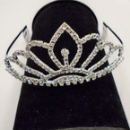 "6"" Large Size Rhinestone Tiara's (006) sold by pc $ 3.00 each"