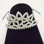 Large Size Rhinestone Tiara's (001) sold by pc $ 3.00 each