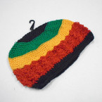 Rasta  Color Goofy Knit Caps 12 per pk  $ 1.16 each