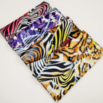 "4"" X 7"" Animal  Print Fashion Ladies Wallets 12 per pk  .54 ea"