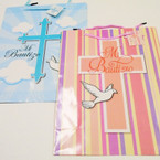 Lg. Size Spanish First Comunion/Baptism Gift Bags .54 each