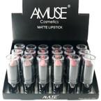 Fashionable Color Matt Lipsticks 24 per display .50 each
