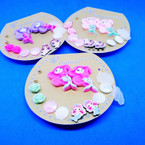 7 Pair Kid's Mermaid Theme Fashion Earring Set .52 per set