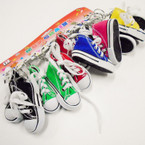 "3"" Converse Look Sneaker Keychains Asst Colors .54 each"