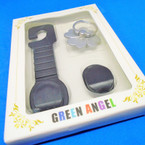 Finger Cell Phone Holder w/ Car Mount Accessory .54 each