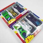 3 Pack Motor Wheels Die Cast Car Sets .55 per set