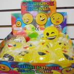 Squish Emoji Bead Balls 12 per display bx .65 each