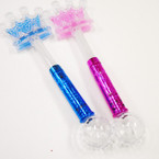"""17"""" Multi Function Flashing Crown Wands sold by pc $ 2.50 each"""