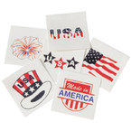 "Patriotic USA 1.5"" Temporary Tattoo's 144 per pk .02 each"