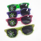Wayfare Look Fashion Sunglasses Glow in the Dark Checker Prints $1.12 ea
