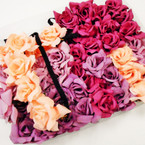Good Size Rose Tone Mix Flower Headbands  .56 each