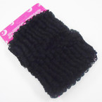Special 2 Pack  All Black Jumbo Donut Pony Oh's .33 per set  of 2