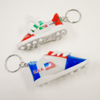 "3"" USA & Mexico Soccer Sneaker Keychains .54 each"