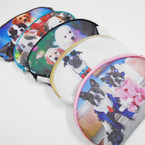"Big  5.5"" x 7.5"" Dog Theme All Purpose Zipper Bags .60 each"
