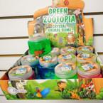 "2.5"" Zootopia Crystal Animal Slime 12 per display .58 each"
