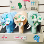 """NEW 7"""" Hand Fan w/ Water Mister Cactus Theme 12 per display $ 1.75 ea"""