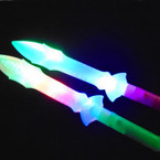 "15"" Light Up Multi Function Multi Color  Sword  12 per pk .65 each"