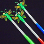 "14"" Light Up Multi Color Butterfly  Wand  12 per pk .55 each"