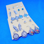 6 Pair Southwest Theme Fashion Earrings .54 per set