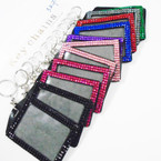"4"" Vertical Acrylic Stone ID Tag Holder 12 per pk .56 each"