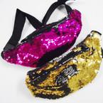 Change Color Sequin Fashion Waist Pouches $ 3.00 each